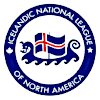 Icelandic National League of North America logo